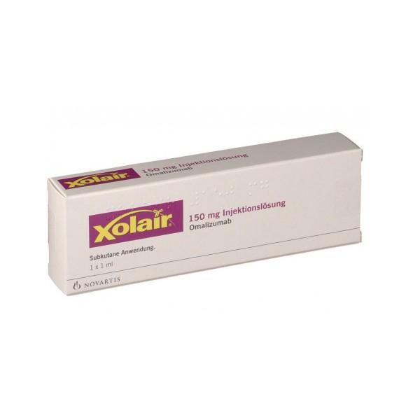 Ксолар Xolair 150 мг/1 готовый шприц