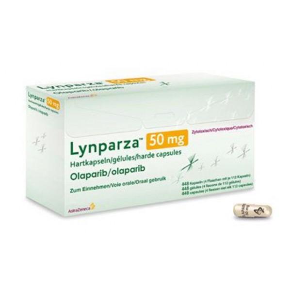 Линпарза Lynparza (Олапариб) 50 мг/4x112 капсул