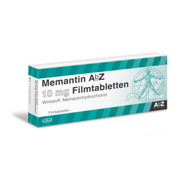 Мемантин Memantin 10 мг/ 98 таблеток