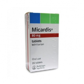 Изображение товара: Микардис MICARDIS 80MG /98 Шт