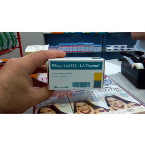 Аллопуринол ALLOPURINOL 100mg - 100 Шт