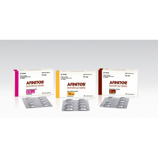 Афинитор Afinitor 2.5 мг/30 таблеток