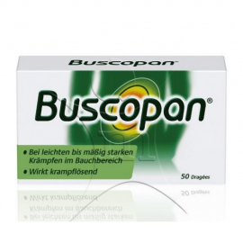 Изображение товара: Бускопан Buscopan Dragees - 50 Шт