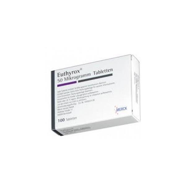 Эутирокс EUTHYROX 50 - 100 Шт
