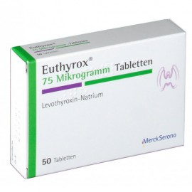 Изображение товара: Эутирокс EUTHYROX 75 - 100 Шт