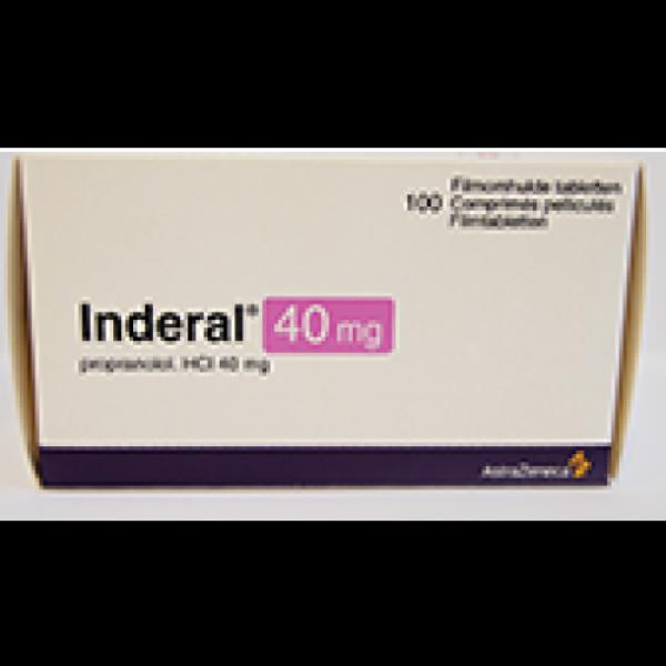 Индерал INDERAL 40MG - 100 Шт