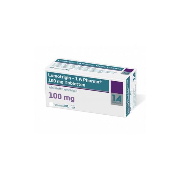 Ламотригин Lamotrigin 100 мг/ 100 таблеток