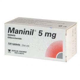 Изображение товара: Манинил MANINIL 5 Mg - 120 Шт