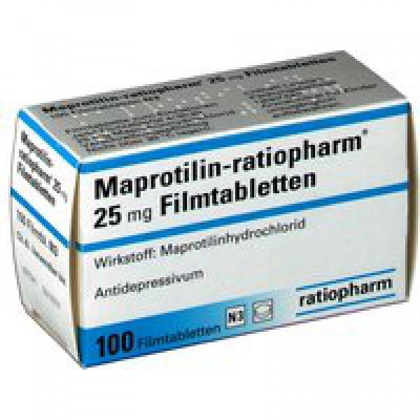Мапротилин MAPROTILIN 50 Мг - 100 Шт