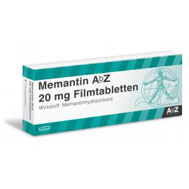 Изображение товара: Мемантин Memantin 20 мг/ 98 таблеток