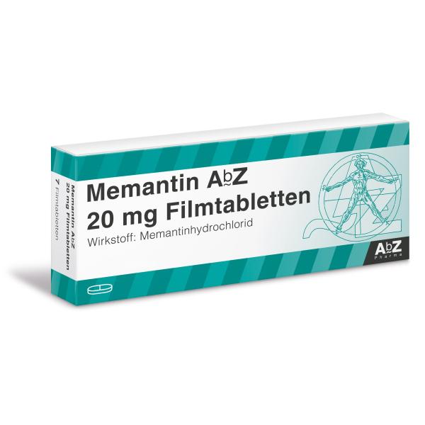 Мемантин Memantin 20 мг/ 98 таблеток