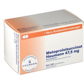 Изображение товара: Метопролол METOPROLOL 50 Mg - 100 Шт