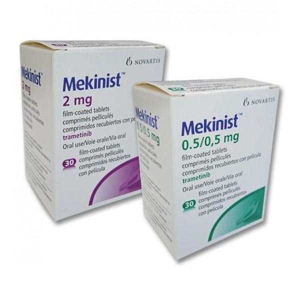 Мекинист Mekinist (Траметиниб) 0.5 мг/30 таблеток