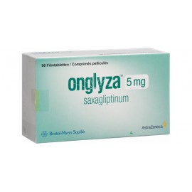 Изображение товара: Онглиза ONGLYZA 5 мг/98 таблеток