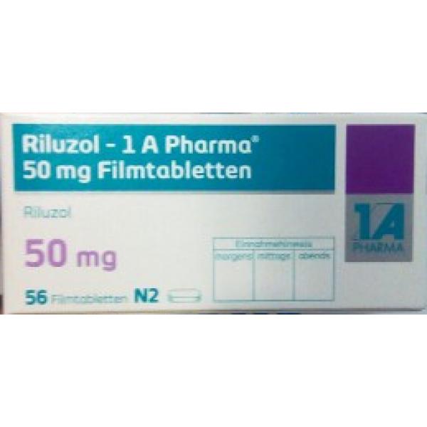 Рилузол RILUZOL 50 мг/56 таблеток