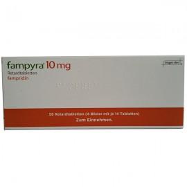 Изображение товара: Фампира Fampyra 10 мг 4х14 шт