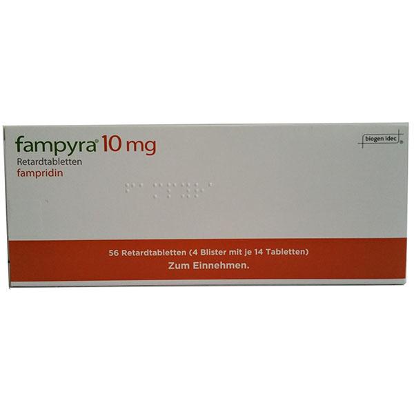Фампира Fampyra 10 мг 4х14 шт