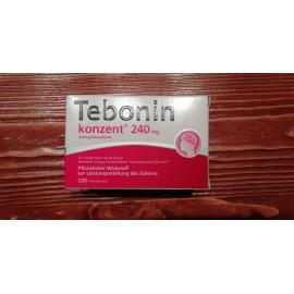 Изображение товара: Тебонин Tebonin Intens 240MG 120 Шт.