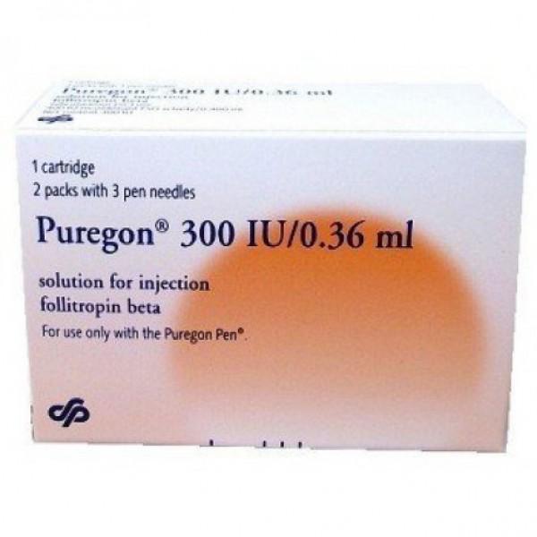 Пурегон Puregon 300 I.E 1 Шт