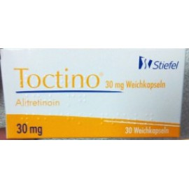 Изображение товара: Токтино Toctino (Алитретиноин) 30 мг/30 капсул
