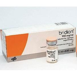Изображение товара: Брайдион Bridion 100MG/ML 10X5 ml