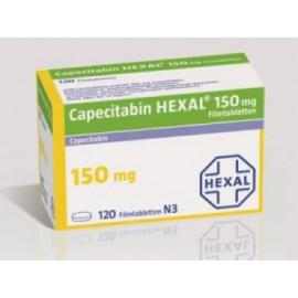 Изображение товара: Капецитобин Capecitabin Hexal 150MG/120 шт