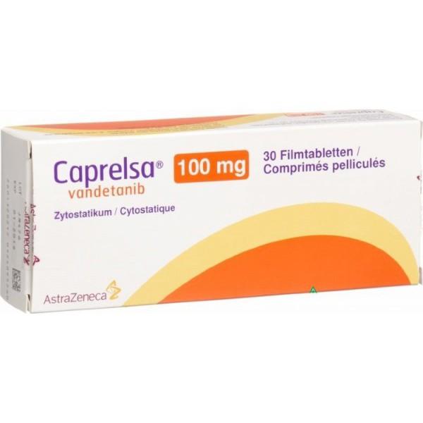 Капрелса Caprelsa (Вандетаниб) 100 мг/30 таблеток