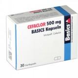 Цефаклор Cefaclor 500MG Basics KAPS/10 Шт
