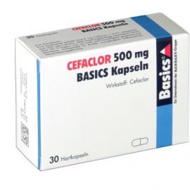 Изображение товара: Цефаклор Cefaclor 500MG Basics KAPS/30 Шт