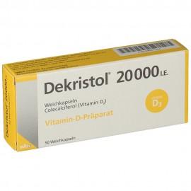 Изображение товара: Декристол Dekristol 20000 I.E./50 шт
