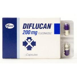 Изображение товара: Дифлюкан Diflucan 200 мг/100 капсул