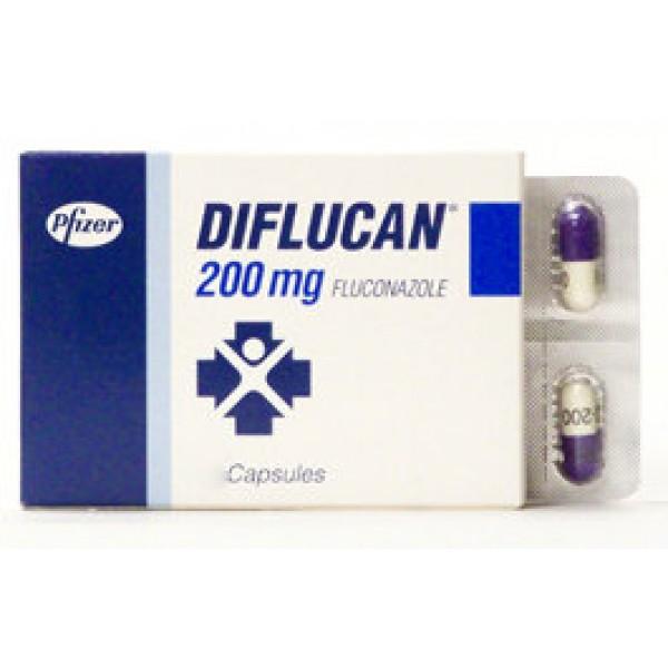 Дифлюкан Diflucan 200 мг/100 капсул