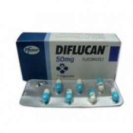 Изображение товара: Дифлюкан Diflucan 50 мг/28 капсул