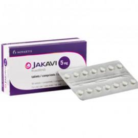 Изображение товара: Джакави Jakavi (Руксолитиниб Ruxolitinib) 5 мг/56 таблеток