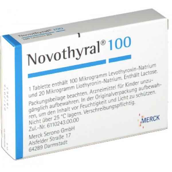 Новотирал Novothyral 100/100 шт