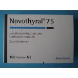 Новотирал Novothyral 75/100 in