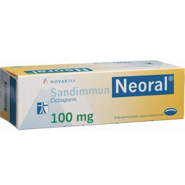 Сандиммун Sandimmun Neoral 100MG/100 шт