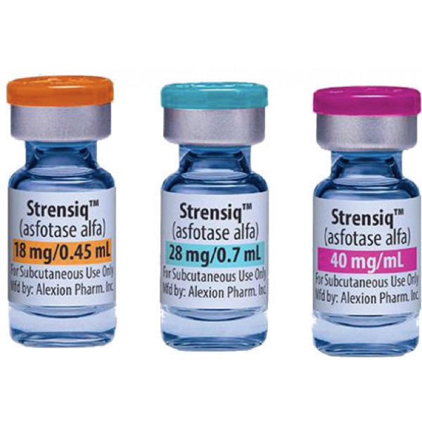 Стренсик STRENSIQ 40MG/ML 40MG 12 х 1Мл