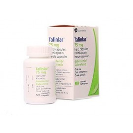 Изображение товара: Дабрафениб Dabrafenib (Тафинлар) 75 мг/120 капсул