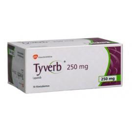 Изображение товара: Тайверб Tyverb 250 мг/70 таблеток
