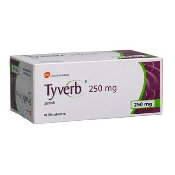 Тайверб Tyverb 250 мг/70 таблеток