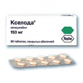 Изображение товара: Кселода Xeloda 150 мг/60 таблеток