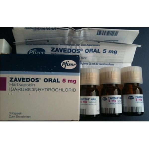 Заведос Zavedos 10 мг/3 капсулы