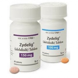Изображение товара: Иделалисиб Idelalisib (Зиделиг Zydelig) 100 мг/60 таблеток