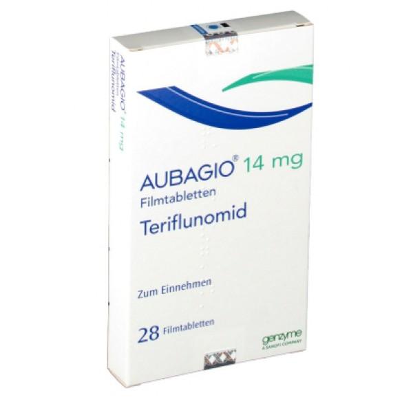 Аубаджио Aubagio (Терифлуномид) 14 мг/28 таблеток