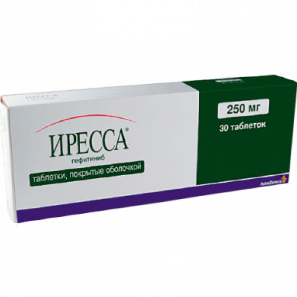 Иресса Iressa 250 мг/30 таблеток