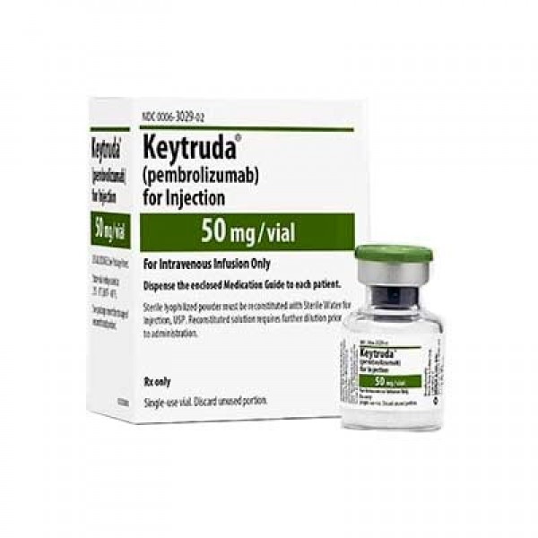 Кейтруда Keytruda (Пембролизумаб / Pembrolizumab) 25MG/ML (100MG) 4Ml