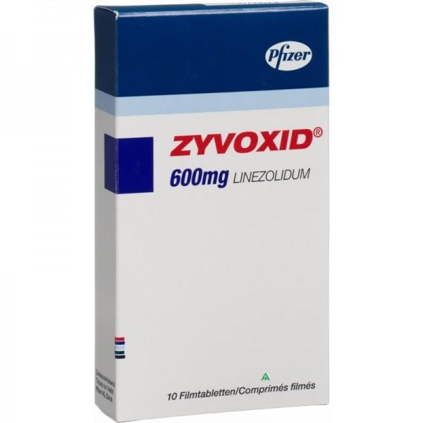 Где купить таблетки Зивокс 600 мг в СПб